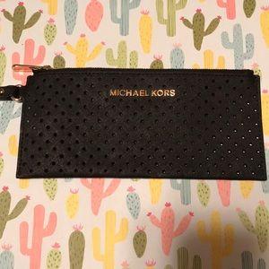 Michael Kors Mini Black Wristlet